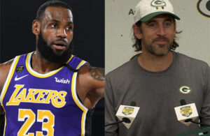 LeBron James and Aaron Rodgers