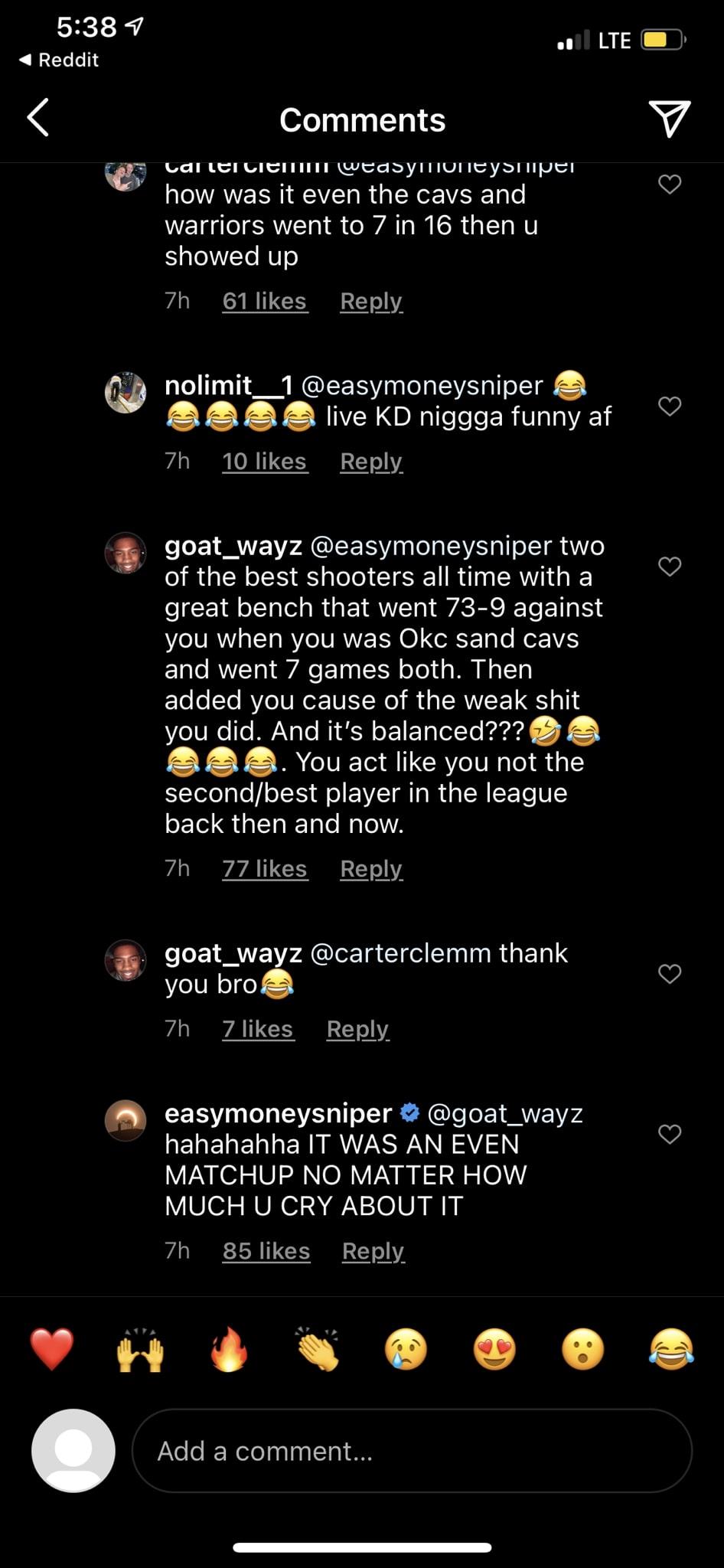 Kevin Durant Instagram