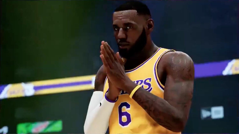 LeBron James NBA 2K22