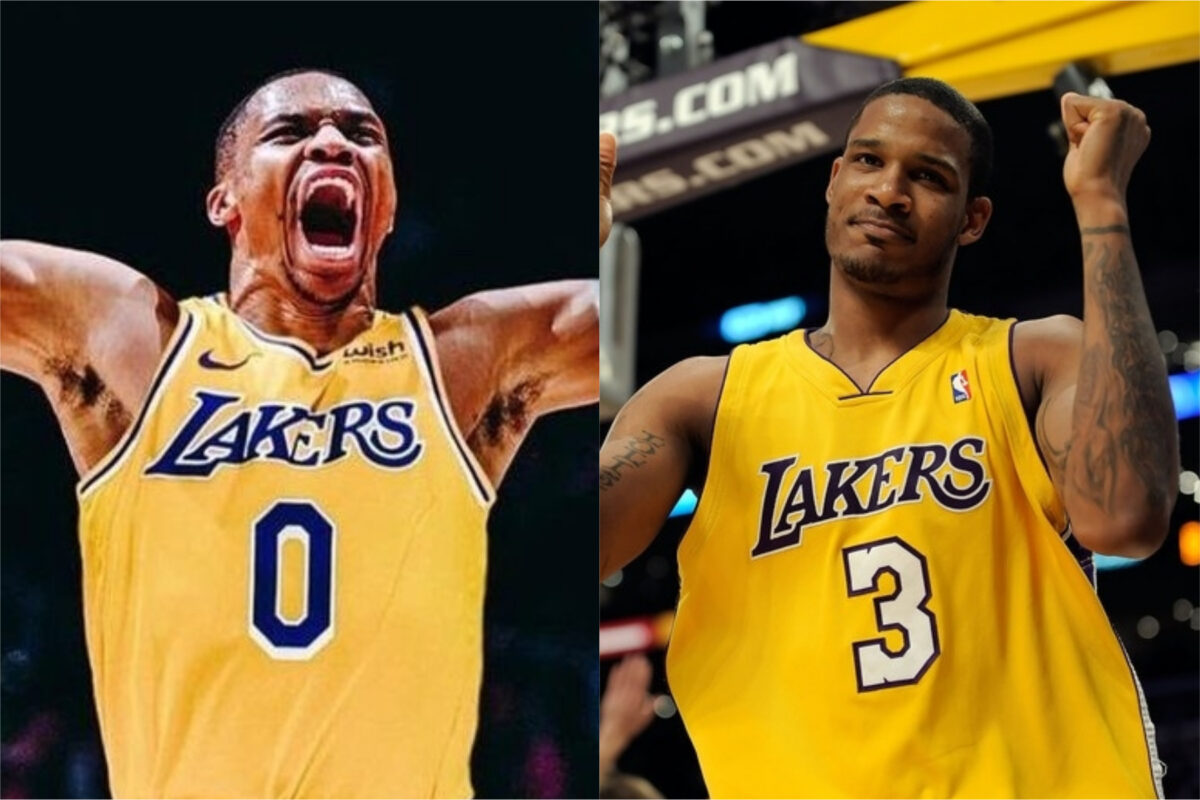 Russell Westbrook and Trevor Ariza
