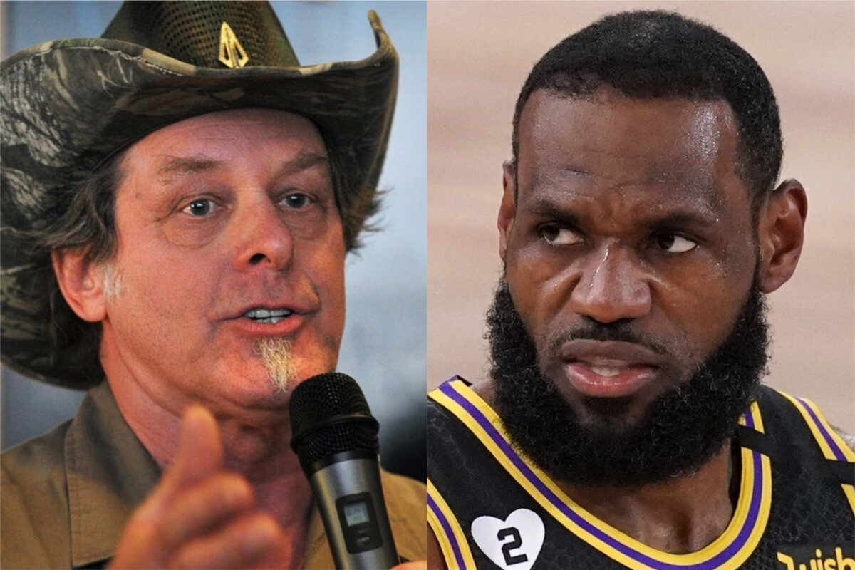 Ted Nugent and LeBron James