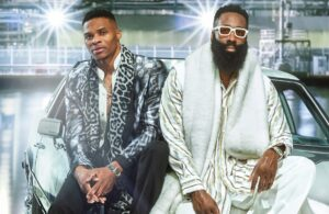 James Harden and Rusell Westbrook