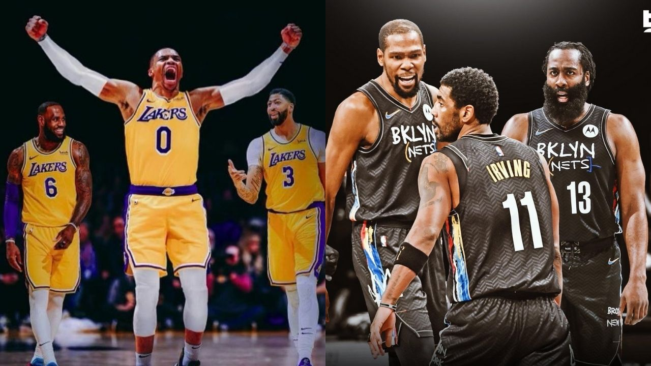 LeBron James, Anthony Davis and Kevin Durant