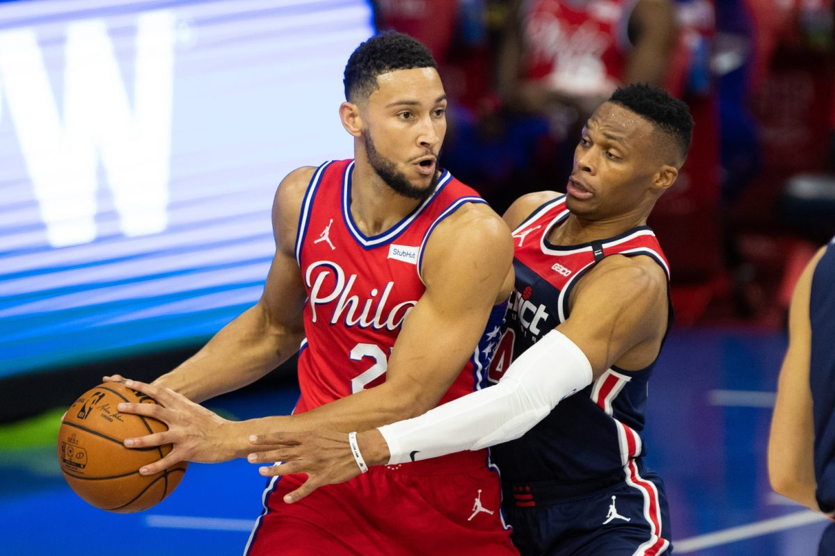 Ben Simmons and Russell Westbrook