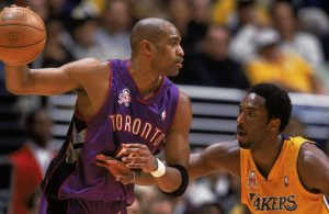 Vince Carter and Kobe Bryant