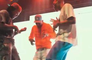 Russell Westbrook dancing