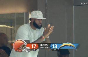 LeBron James Browns