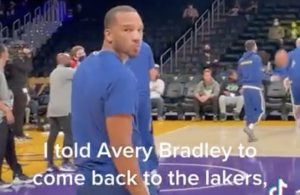 Avery Bradley Warriors
