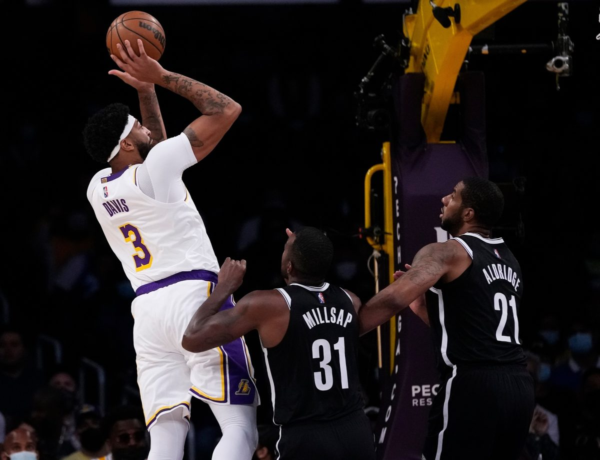 Anthony Davis Lakers vs. Nets