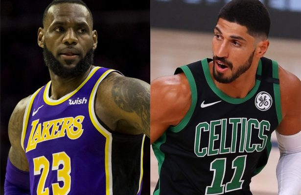 Enes Kanter blasts LeBron James on live television for his opinion on COVID-19 vaccine
